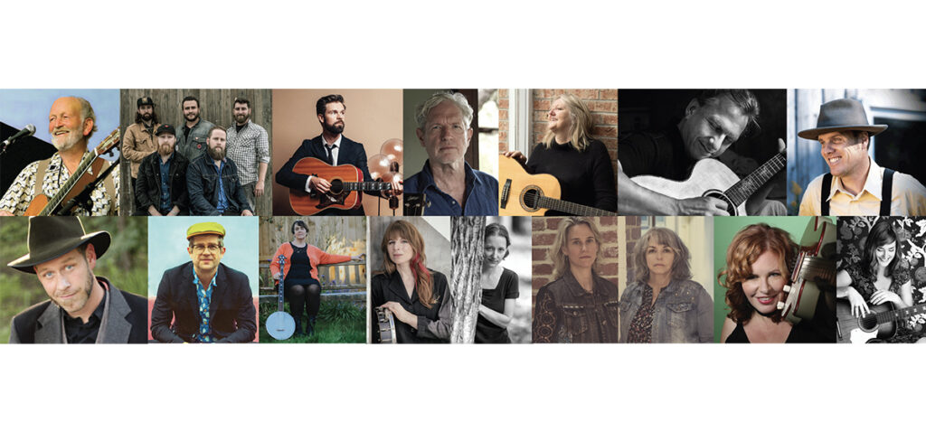 The artists booked to perform during the 2020-2021 season